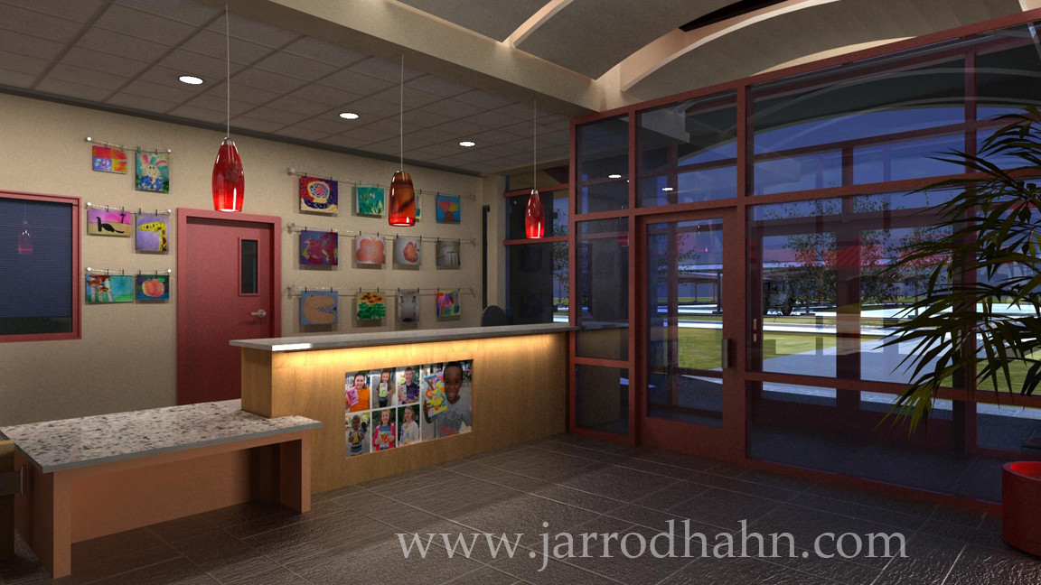 Architectural Rendering | Camp Pendleton