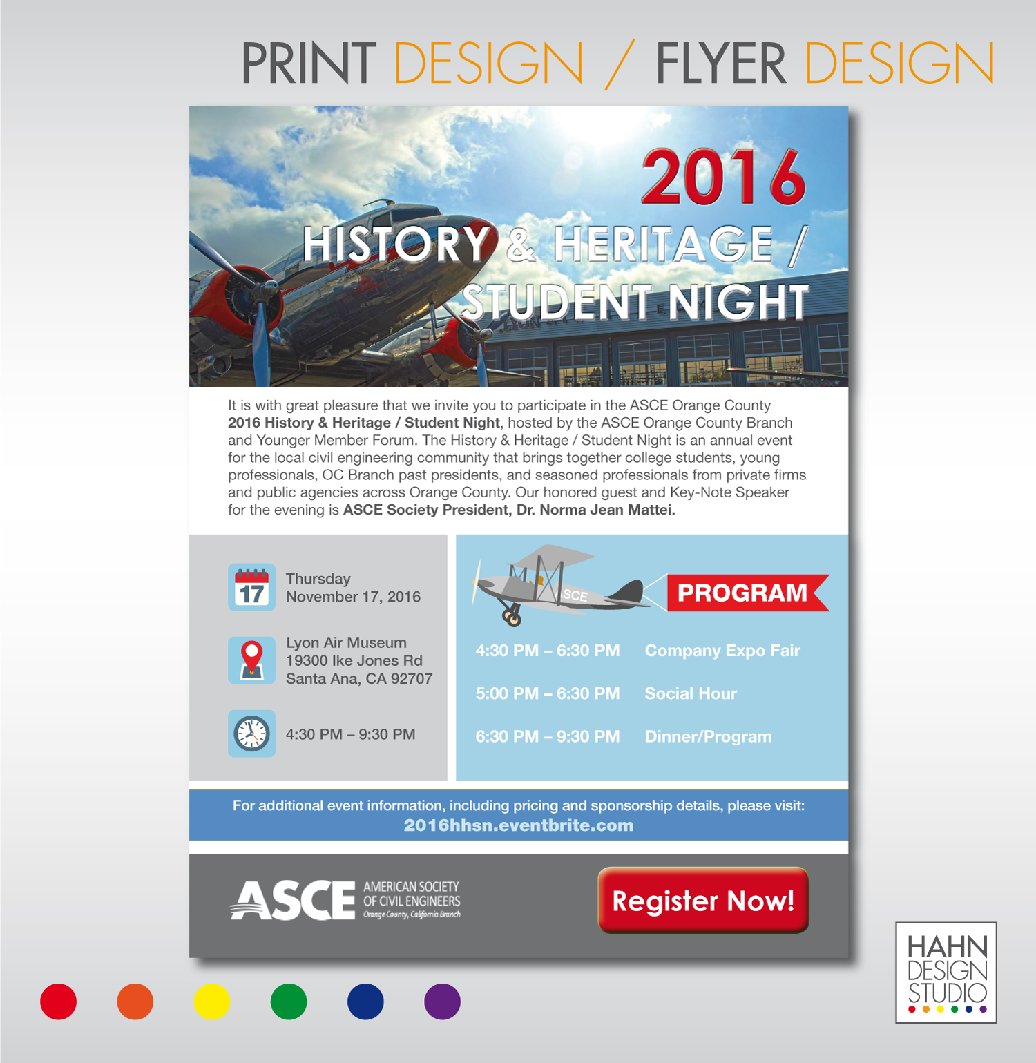 Graphic and Print Design | ASCE OC