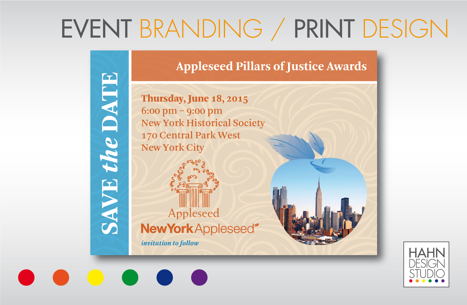 Event Branding / Print Design | New York Appleseed