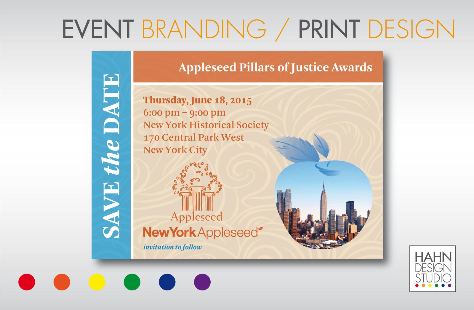 Event Branding / Print Design | New York Appleseed