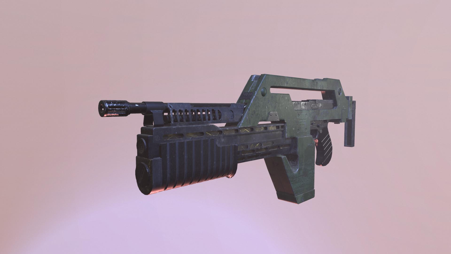 Pulse Rifle from Aliens | Jarrod Hahn