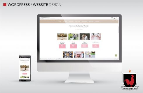 Website Design & Template Modification