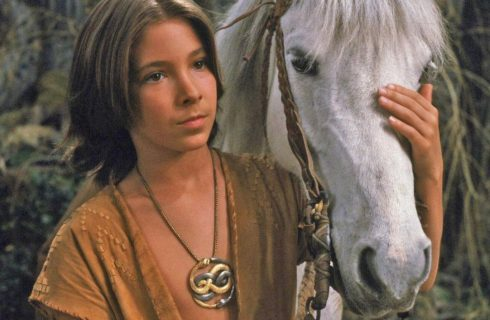 Atreyu Wearing Auryn from The NeverEndingStory