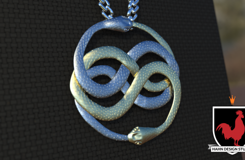 Atreyu wearing Auryn from The NeverEnding Story | 3D Modeling | Hahn Design Studio