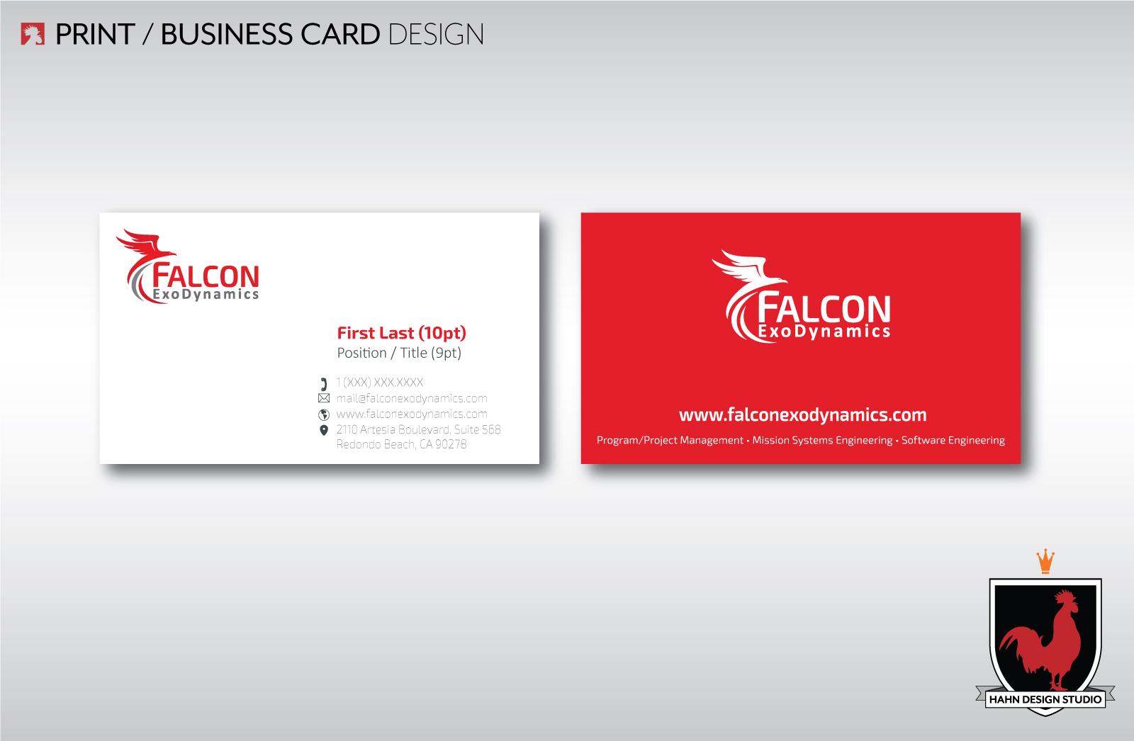 Logo Business Cards Design Hahn Design Studio