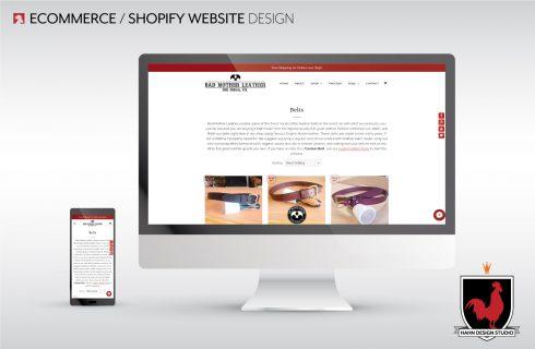 Website Design & SEO | Bad Mother Leather